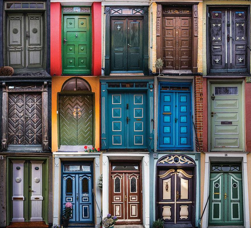 fotos de puertas dinamarca