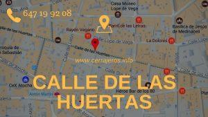 Cerrajeros Calle de las Huertas