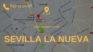 Cerrajeros Sevilla la Nueva