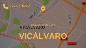 Cerrajeros Vicálvaro en Madrid