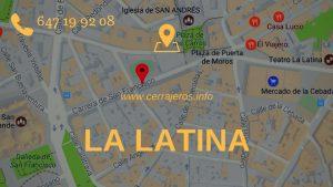 Cerrajeros la Latina