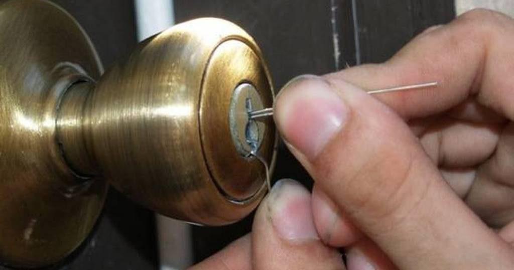Como abrir un cerradura sin llave