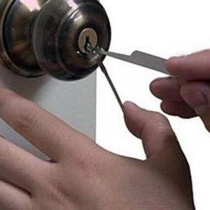 ¿Cómo se puede abrir una puerta sin llave?